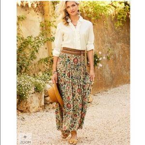 NWT peruvian connection jaipur skirt